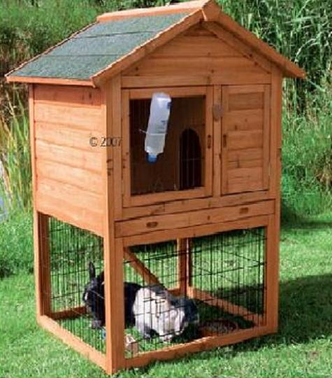 Large portable hen house must see coop channel for Outdoor bunny hutch